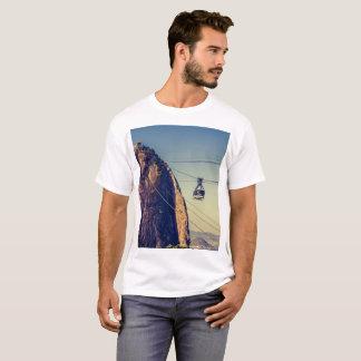 Camiseta Montanha do naco de açúcar em Rio de Janerio,