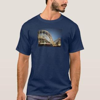 Camiseta Montanha russa do ciclone de Coney Island,