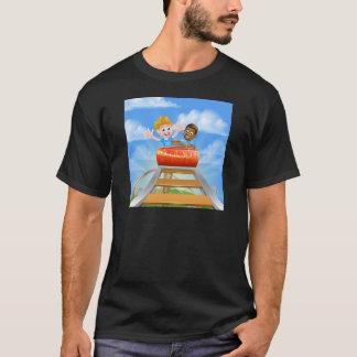 Camiseta Montanha russa do parque temático