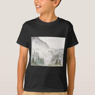 Camiseta Montanhas enevoadas