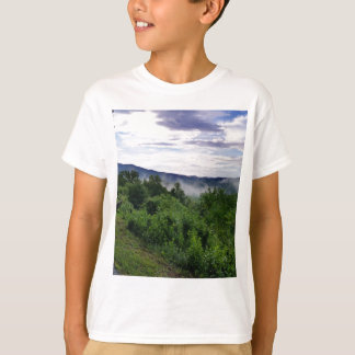 Camiseta Montanhas fumarentos em Great Smoky Mountains