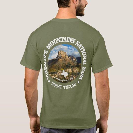 Camiseta Montanhas NP de Guadalupe