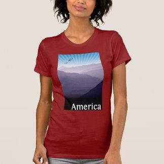 Camiseta Montanhas roxas