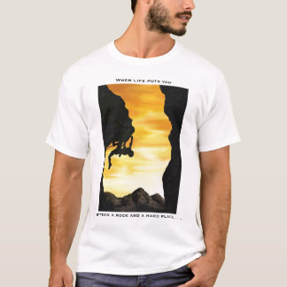 Camiseta Montanhista de rocha
