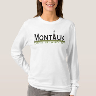 Camiseta Montauk coube senhoras do Hoodie