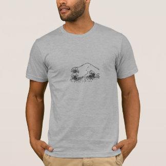 Camiseta Monte da equipe (homem)
