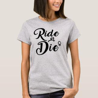 Camiseta monte morrem divertimento engraçado do presente da
