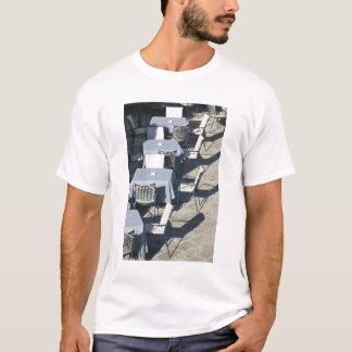 Camiseta Montenegro, Budva. Cidade de Budva/formando idosos