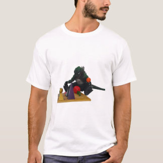 Camiseta Montessaurus & t-shirt dos sólidos da gramática