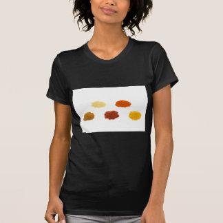 Camiseta Montões de diversos especiarias do tempero no
