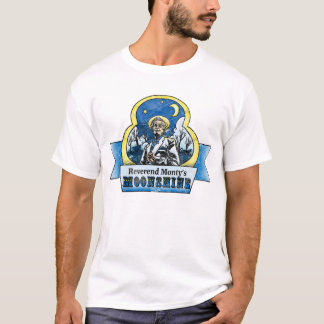 Camiseta Monty reverendo Moonshine o t-shirt