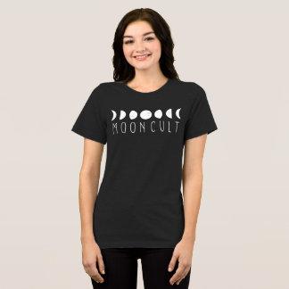 Camiseta MoonCult pôr em fase jérsei Relaxed do ajustado