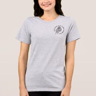 Camiseta MoonCult relaxou o bolso do T do jérsei