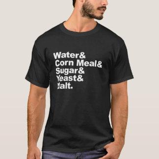 Camiseta Moonshine ingredientes