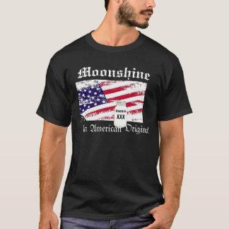 Camiseta Moonshine, um t-shirt original americano