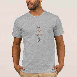 Camiseta Morador de caverna do homem