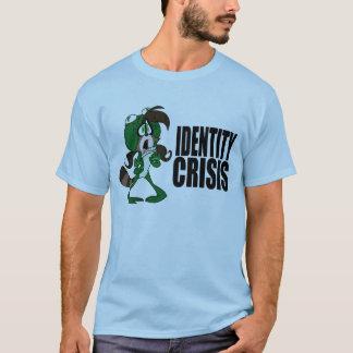 Camiseta Morango do guaxinim do sapo: Crise de identidade