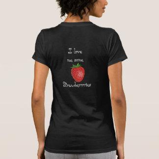 Camiseta Morangos do amor - t-shirt
