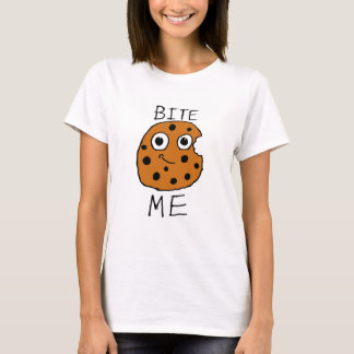 Camiseta Morda-me biscoito