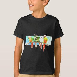 Camiseta Mordente verde Conures