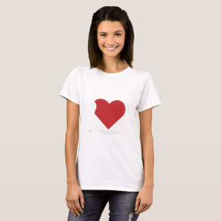Camiseta Mordida de amor