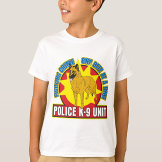 Camiseta Mordida de Malinois do belga K9