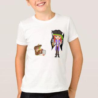Camiseta Morgan louco Rackham com T do tesouro
