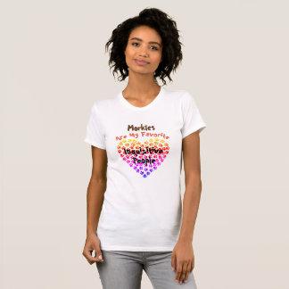 Camiseta Morkies é minhas pessoas inquisidoras favoritas -