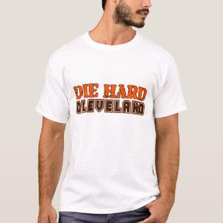 Camiseta Morre o t-shirt duro do logotipo de Cleveland