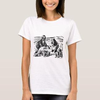 Camiseta Morsa, Carpeter e ostras