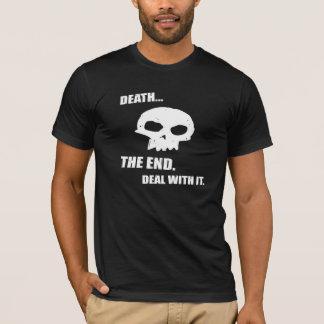 Camiseta Morte de TDK - evolução - NEGÓCIO COM ELE