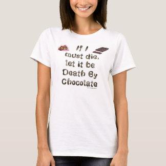 Camiseta Morte pelo chocolate