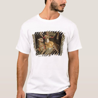 Camiseta Mosaico de Dionysus que monta um ANÚNCIO do