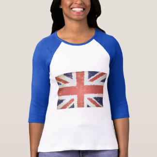 Camiseta Mosaico de Union Jack Reino Unido da bandeira