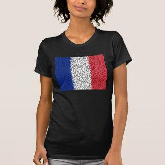 Camiseta Mosaique Drapeau Francais