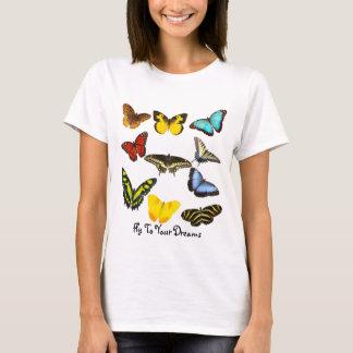 Camiseta Mosca a seus sonhos - borboleta