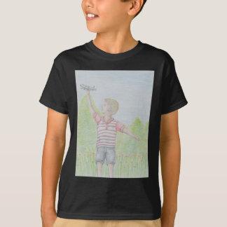 Camiseta mosca afastado