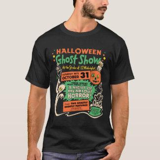 Camiseta Mostra 1950 do fantasma do Dia das Bruxas