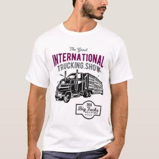 Camiseta Mostra internacional do caminhão