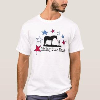 Camiseta Mostra que você apoia com o logotipo do rancho da