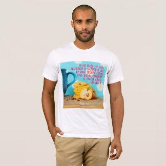 Camiseta Mostre a hospitalidade aos desconhecido