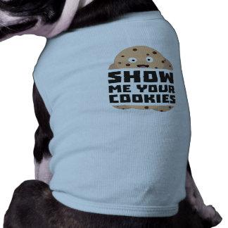 Camiseta Mostre-me os biscoitos Zq3fm