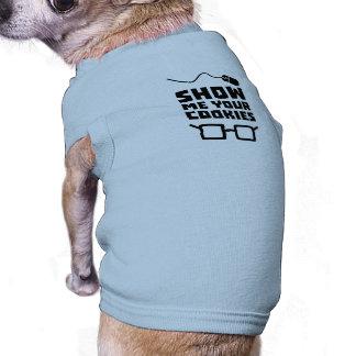 Camiseta Mostre-me seu geek Zb975 dos biscoitos