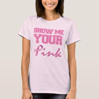 Camiseta Mostre-me seu rosa