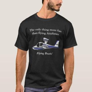 Camiseta Mostre o mundo que você ama hidroaviões