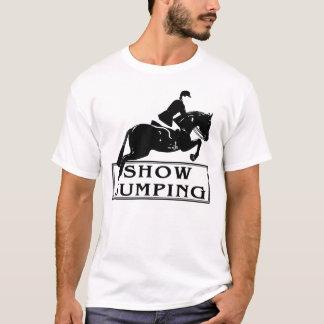 Camiseta mostre o salto