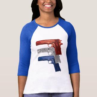 Camiseta Mostre suas cores: Mulheres do potro 1911