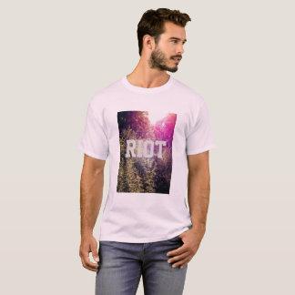 Camiseta Motim com o t-shirt básico dos homens de Forrest
