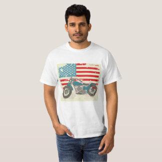 Camiseta Moto na Veia - Classic USA 01