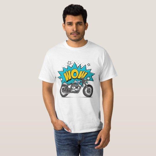 Camiseta Moto na Veia - Legendária wow